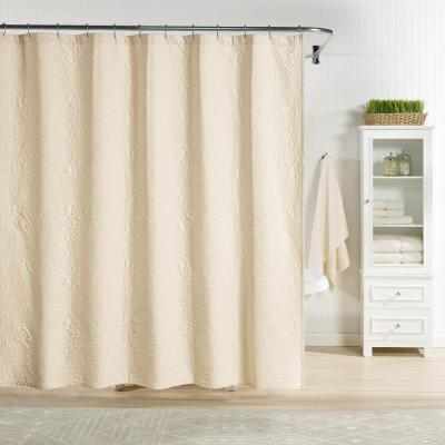 Raphaela Shower Curtain Cream