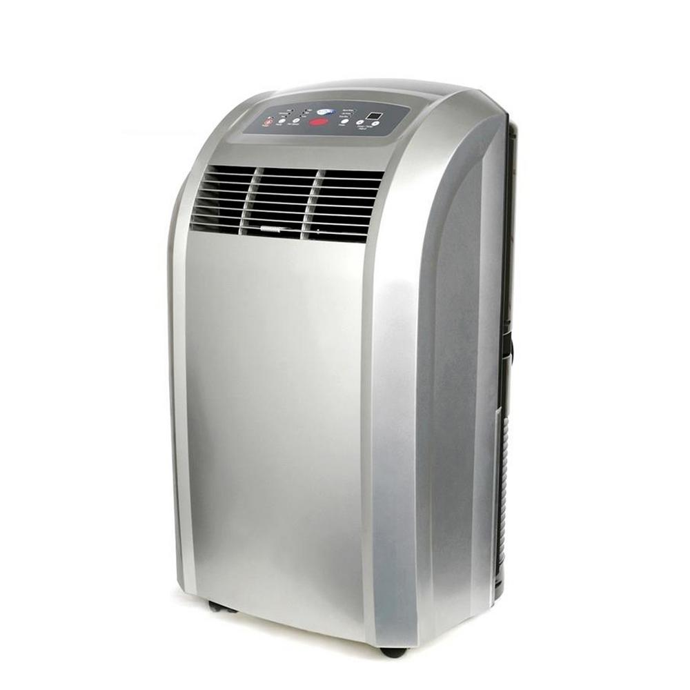 Whynter 12,000 BTU Portable Air Conditioner with Dehumidifier and Remote, Silver