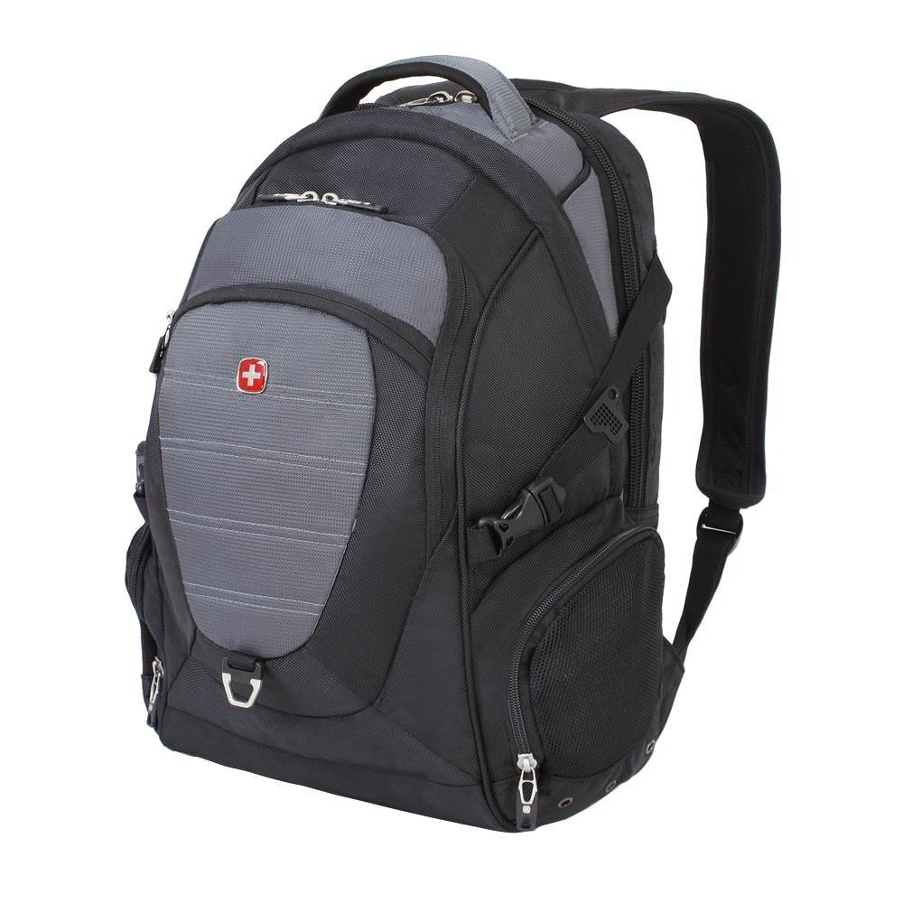 Swissgear 18 5 In Black And Grey Computer Backpack