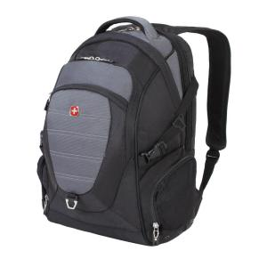 SWISSGEAR 18.5 in. Black and Grey Computer Backpack