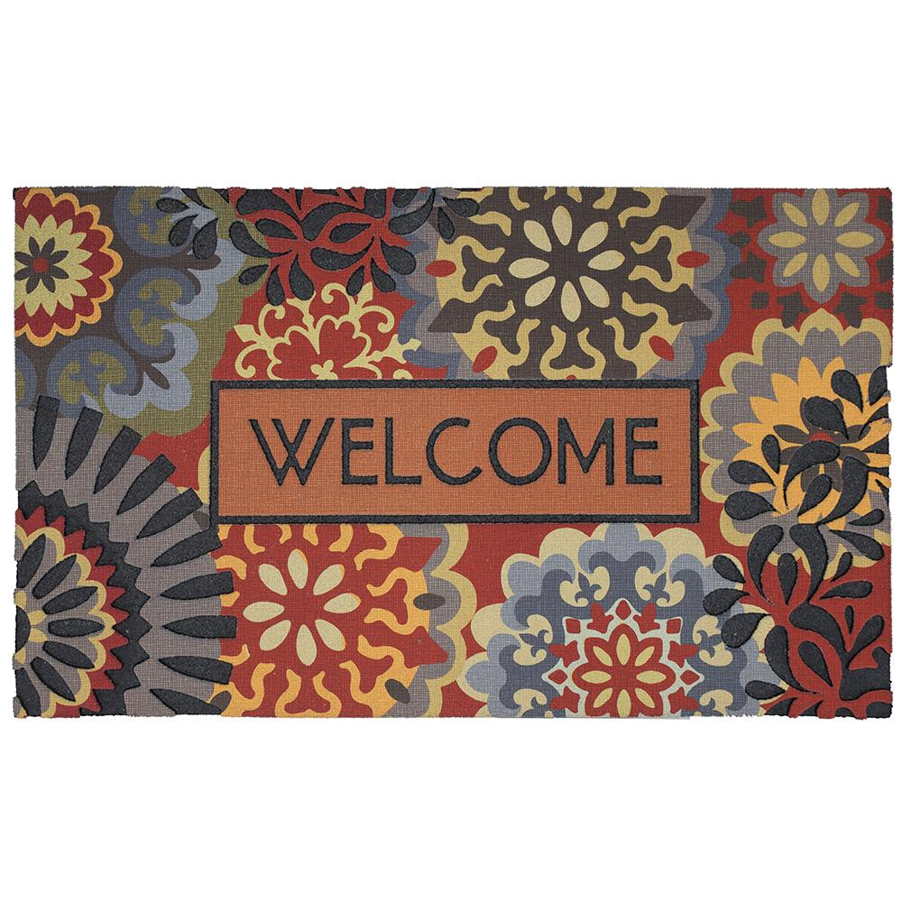 Mohawk Home Dimensional Scatter Multi 18 in. x 30 in. Door Mat was $26.4 now $21.12 (20.0% off)