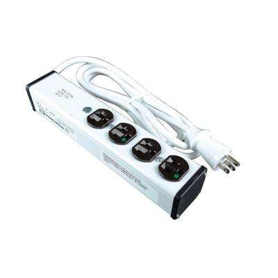 4-Outlet Medical Grade Power Strip, 15 ft. Cord
