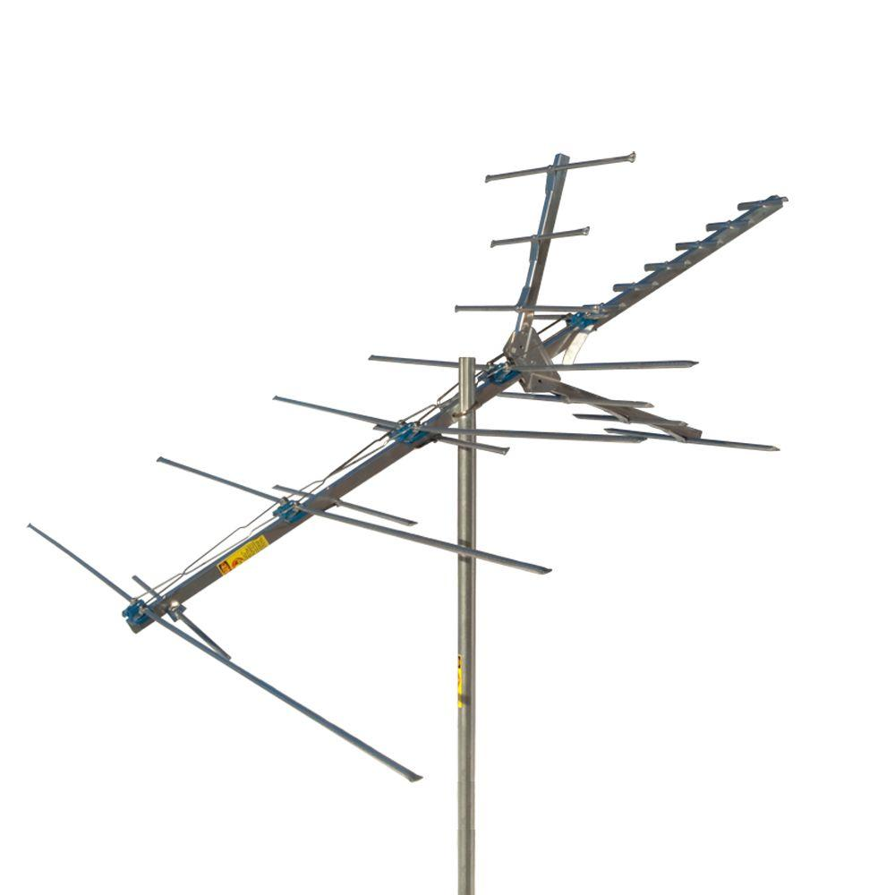 GE 110 in. 36-Element Outdoor VHF/UHF/FM Antenna