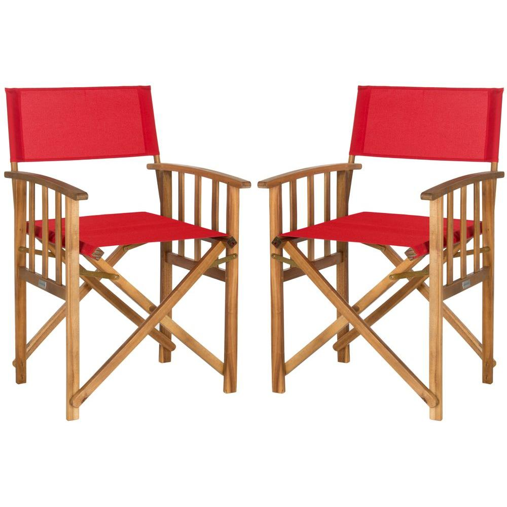 This Review Is From:Laguna Teak And Red Folding Directoru0027s Chair (Set Of 2)