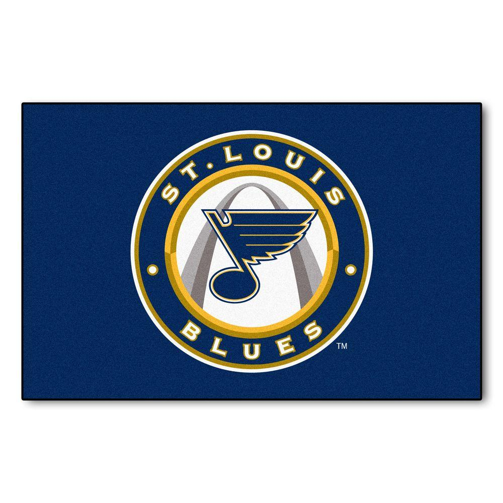 Fanmats St Louis Blues 19 In X 30 In Accent Rug 10590