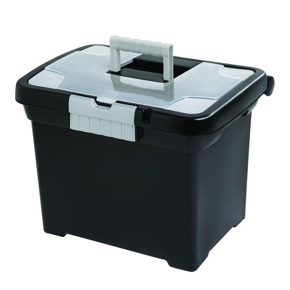 sterilite 15 in x 10 7 8 in file box 18719004 the home depot