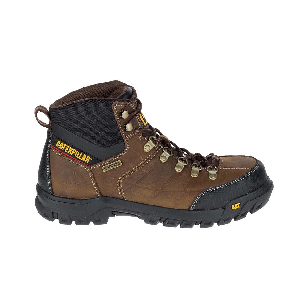 099ae2f79e3 CAT Footwear Threshold Men's Size 10M Brown Waterproof Steel Toe Boots