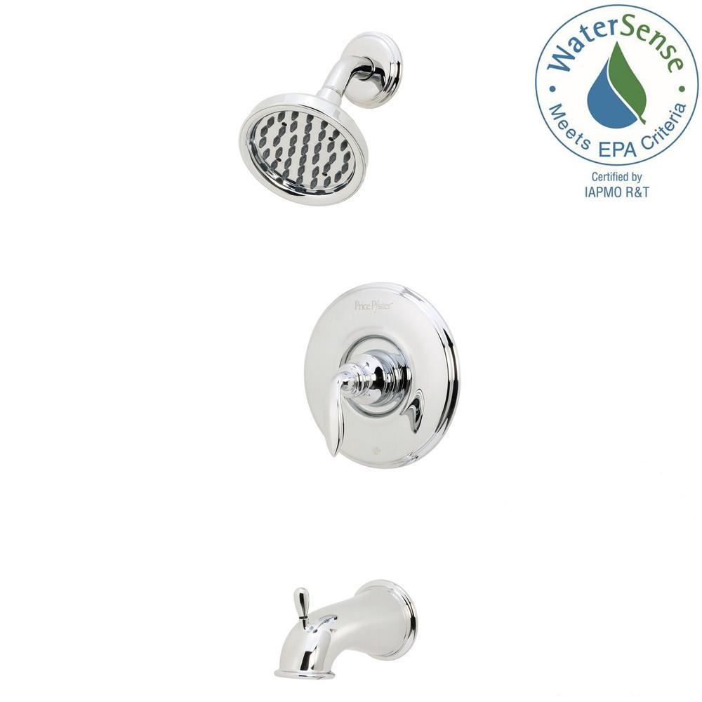 Pfister Avalon Single-Handle 1-Spray Tub and Shower Faucet in ...