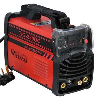 Amico 220 Amp TIG Torch arc Stick DC Inverter Welder 110/230-Volt Dual Voltage Welding Machine New