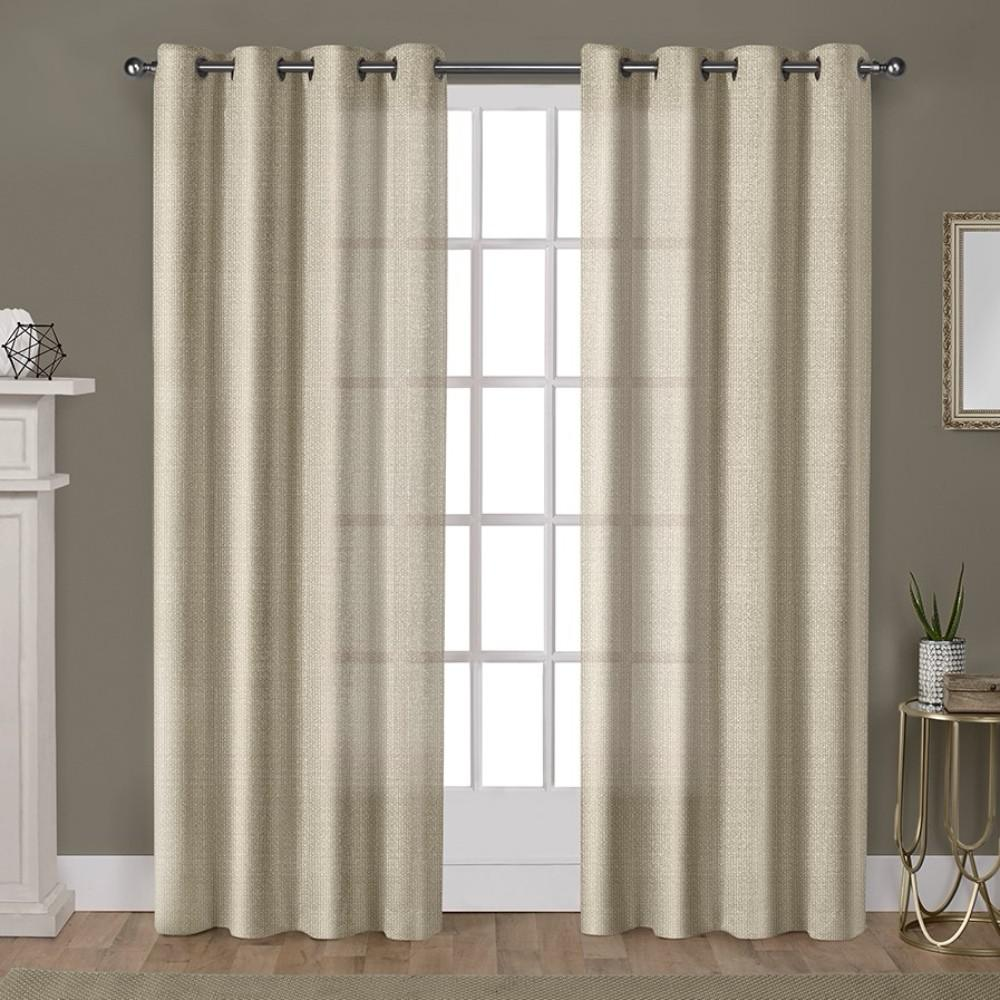curtain window inches embroidered x madison panel linen pin geo geometric w grey park metallic curtains size asher l
