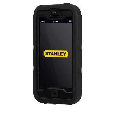 Dozer iPhone 5 Rugged 3-Piece Smart Phone Case - Black and Yellow