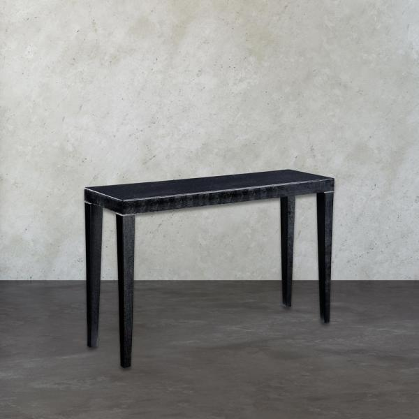 Titan Lighting Boutique Black and Silver Console Table