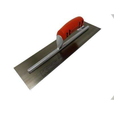 16 in. x 4 in. Finishing Cement Trowel with ProForm Handle