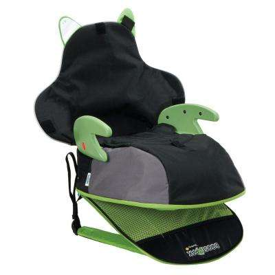 Boost-A-Pack Booster Car Seat, Green