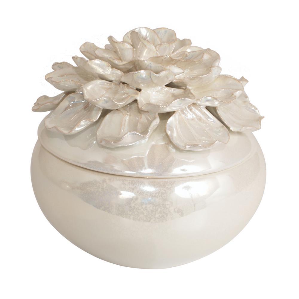 Flower Ceramic Box
