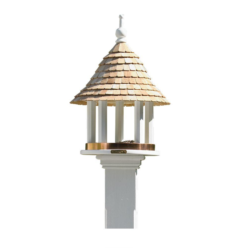 feeders bird ultra gazebo thumb cedar feeder pennington p