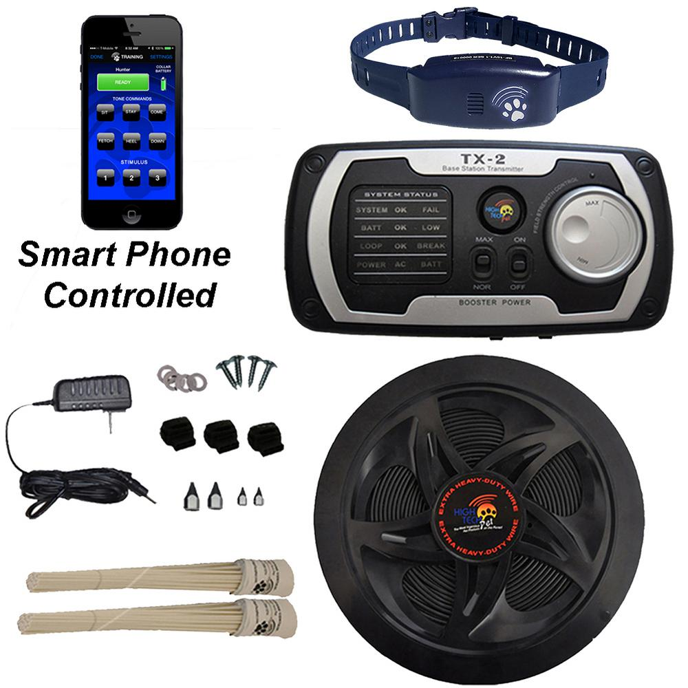 High Tech Pet Bluefang 30-Acre Smart Phone Controlled Ele...