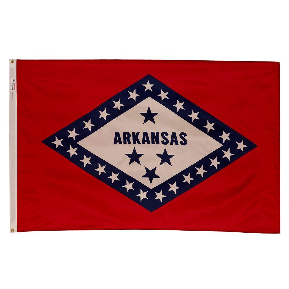 3 ft. x 5 ft. Nylon Arkansas State Flag