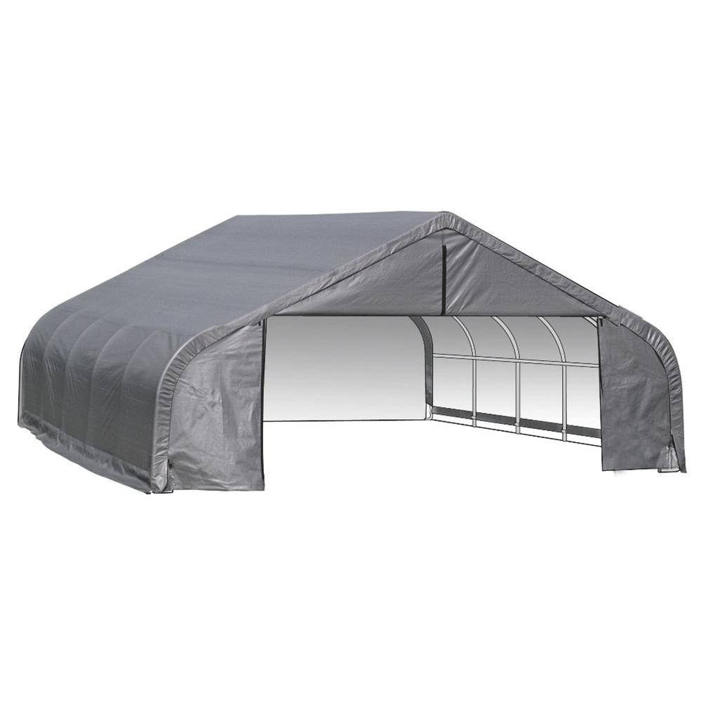 22 ft.  sc 1 st  The Home Depot & Portable Garages u0026 Car Canopies - Carports u0026 Garages - The Home Depot
