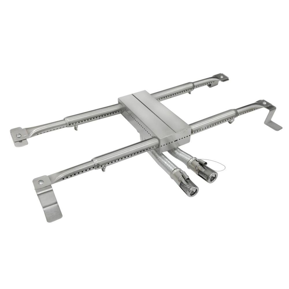 null Adjustable Stainless Steel H Burner
