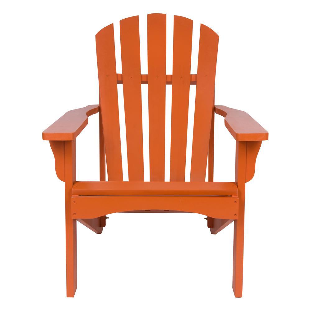 Rockport Rust Cedar Wood Adirondack Chair