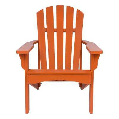 Rockport Rust Cedar Wood Adirondack Chair