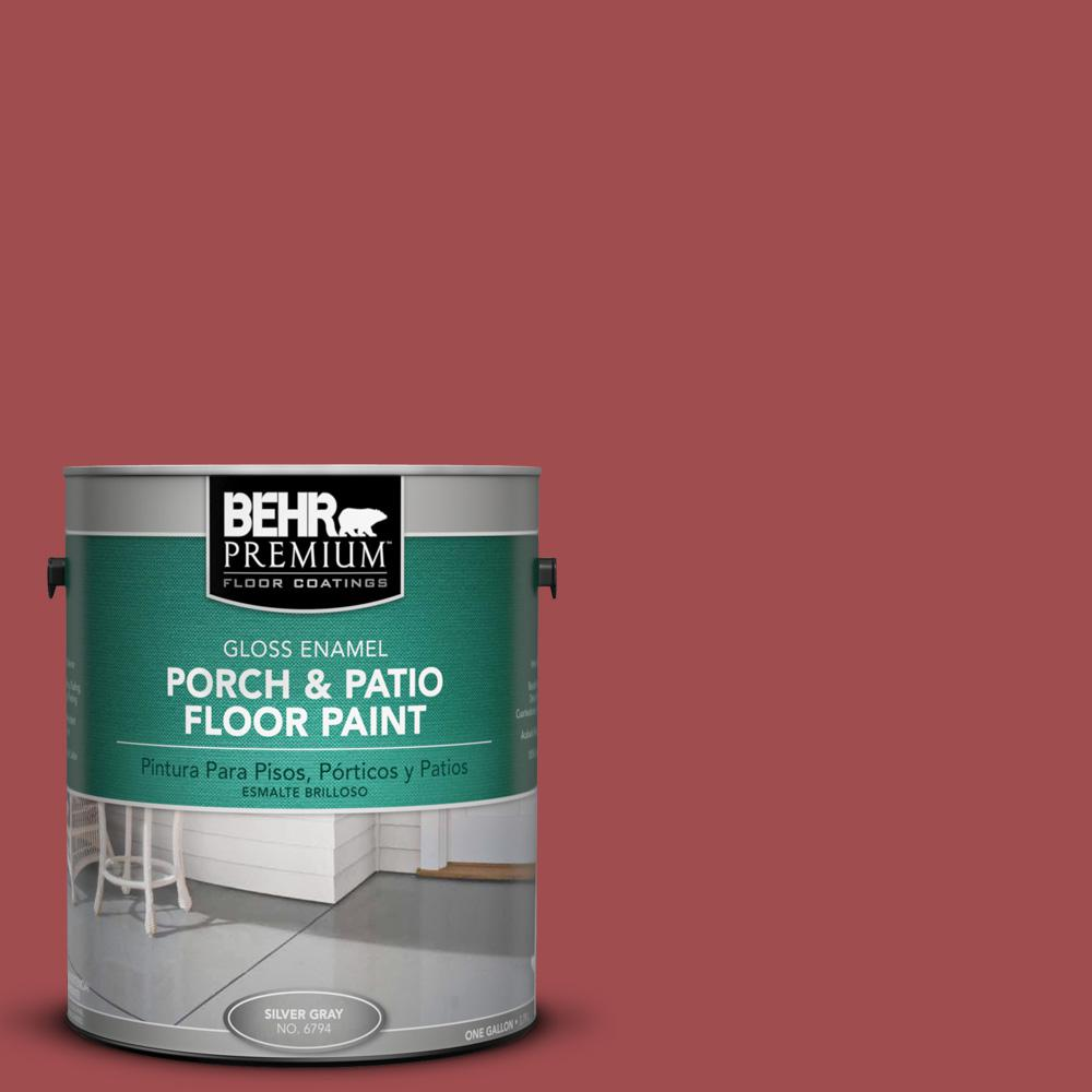 1 gal. #M150-7 Sweet Cherry Gloss Porch and Patio Floor Paint