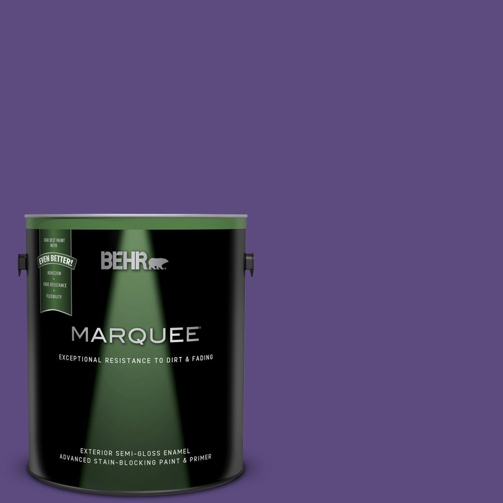 Mq4 28 Purple Sky Semi Gloss Enamel Exterior Paint And Primer In One