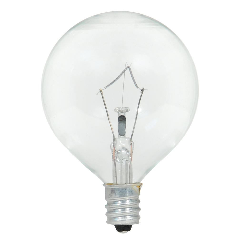 Sylvania 40-Watt Double Life G16.5 Incandescent Light Bulb (2-Pack)