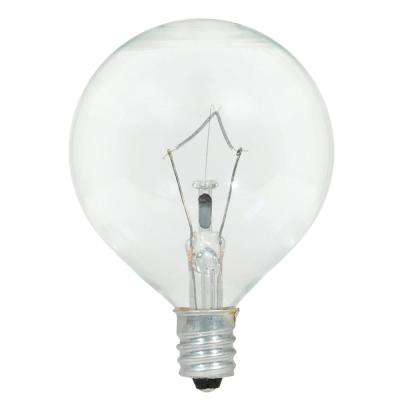 40-Watt Double Life G16.5 Incandescent Light Bulb (2-Pack)