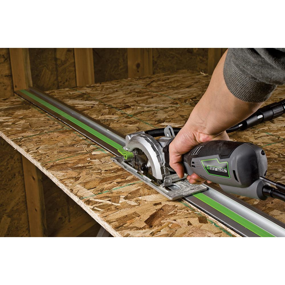 Compact Circular Saw Electric Power Hand Held Wood Cutter