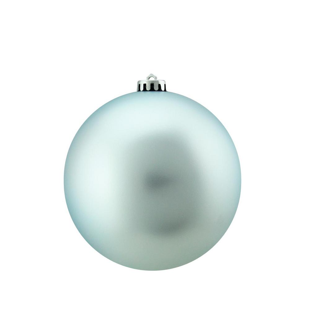 northlight shatterproof matte baby blue christmas ball ornament - Blue Christmas Ornaments