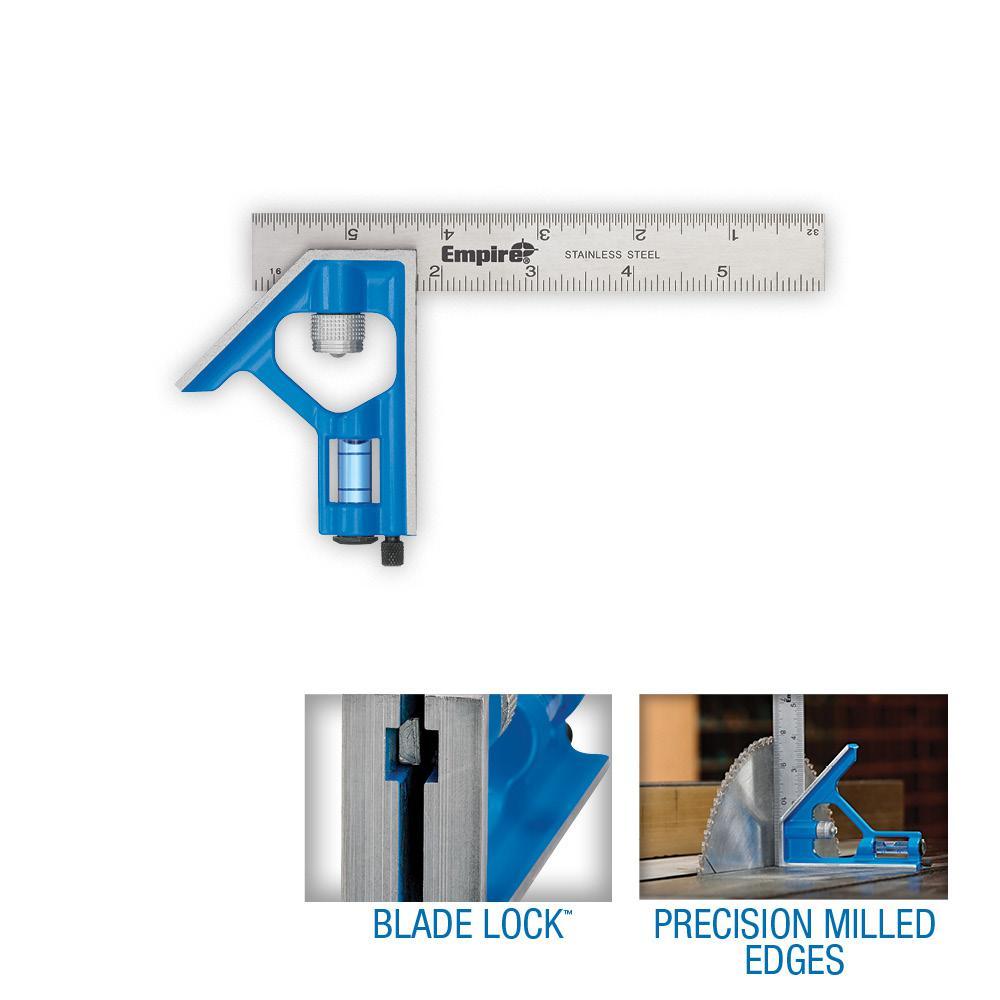"""Metal Tri Square Sturdy Try Set Adjust Angle Slide Ruler Frame Combination mm /&/"""""""
