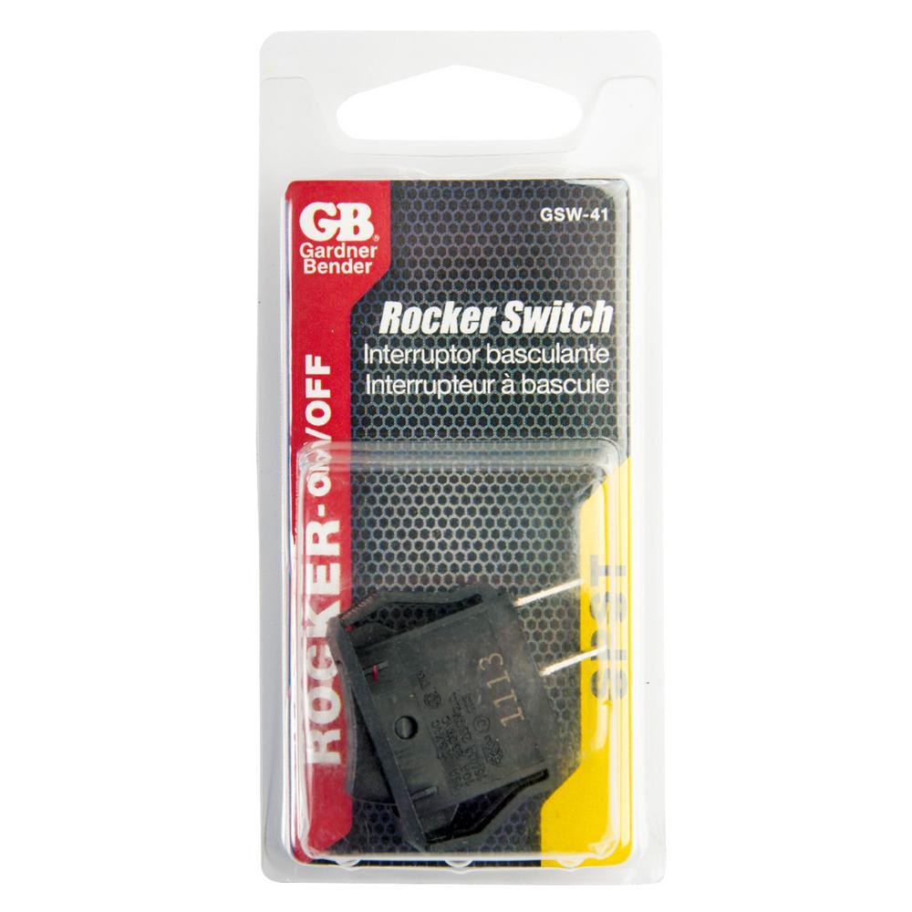 GB Gardner Bender GSW-41 Appliance Rocker Switch