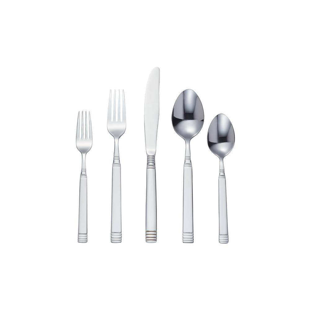 StyleWell 20-Piece Stainless Steel Flatware Set with Decorative Handle (Service for 4) was $19.98 now $9.99 (50.0% off)