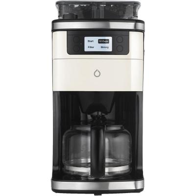 6-Cup Black Coffee Maker with Smart App