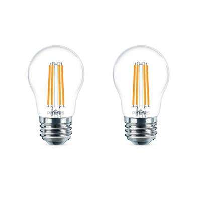 60-Watt Equivalent A15 Dimmable LED Light Bulb Daylight (2-Pack)