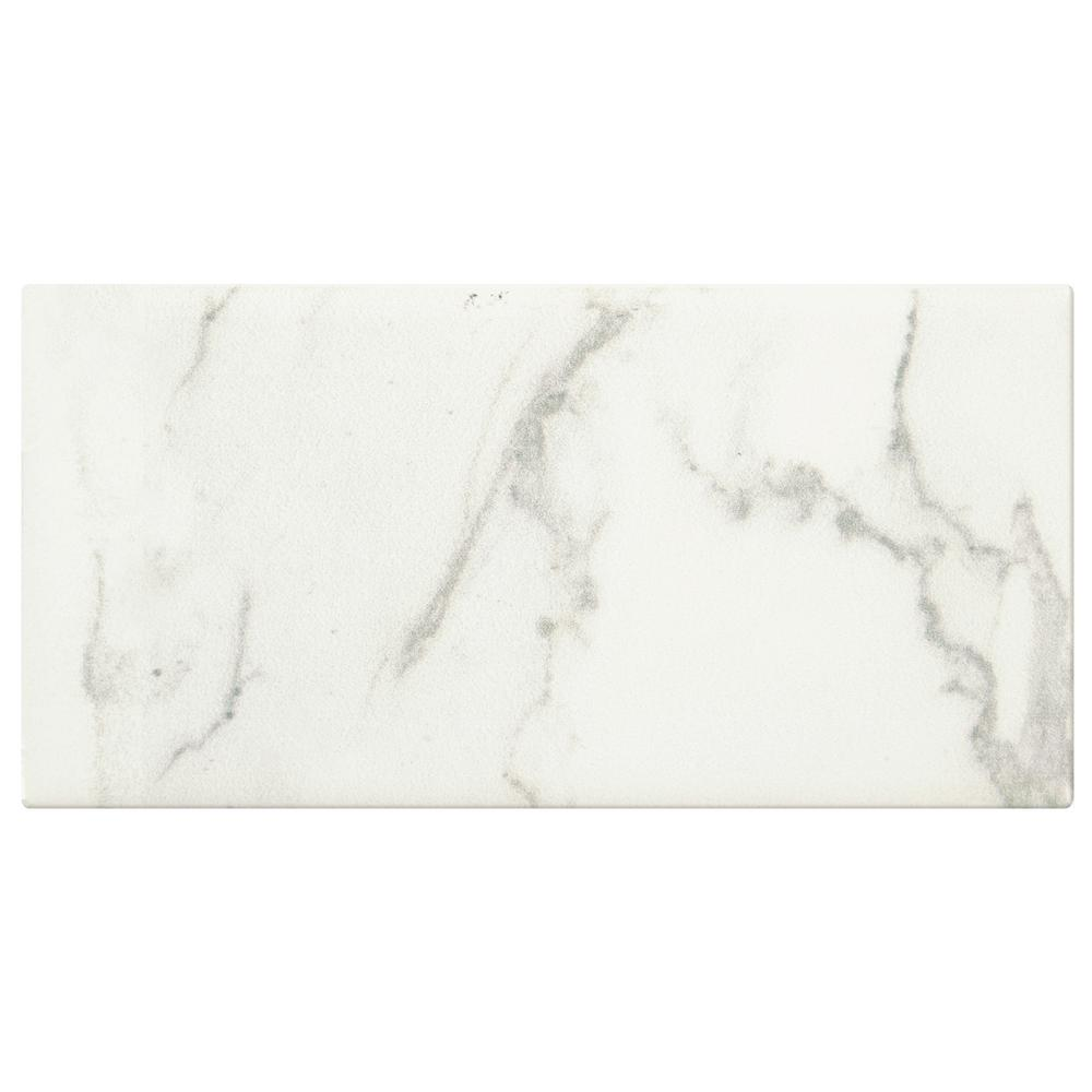 Awesome 12X12 Floor Tile Big 12X24 Ceramic Floor Tile Solid 18 Ceramic Tile 20 X 20 Floor Tile Patterns Young 2X4 White Subway Tile Orange3X6 Beveled Subway Tile MARAZZI Developed By Nature Calacatta 3 In. X 6 In. Glazed Ceramic ..