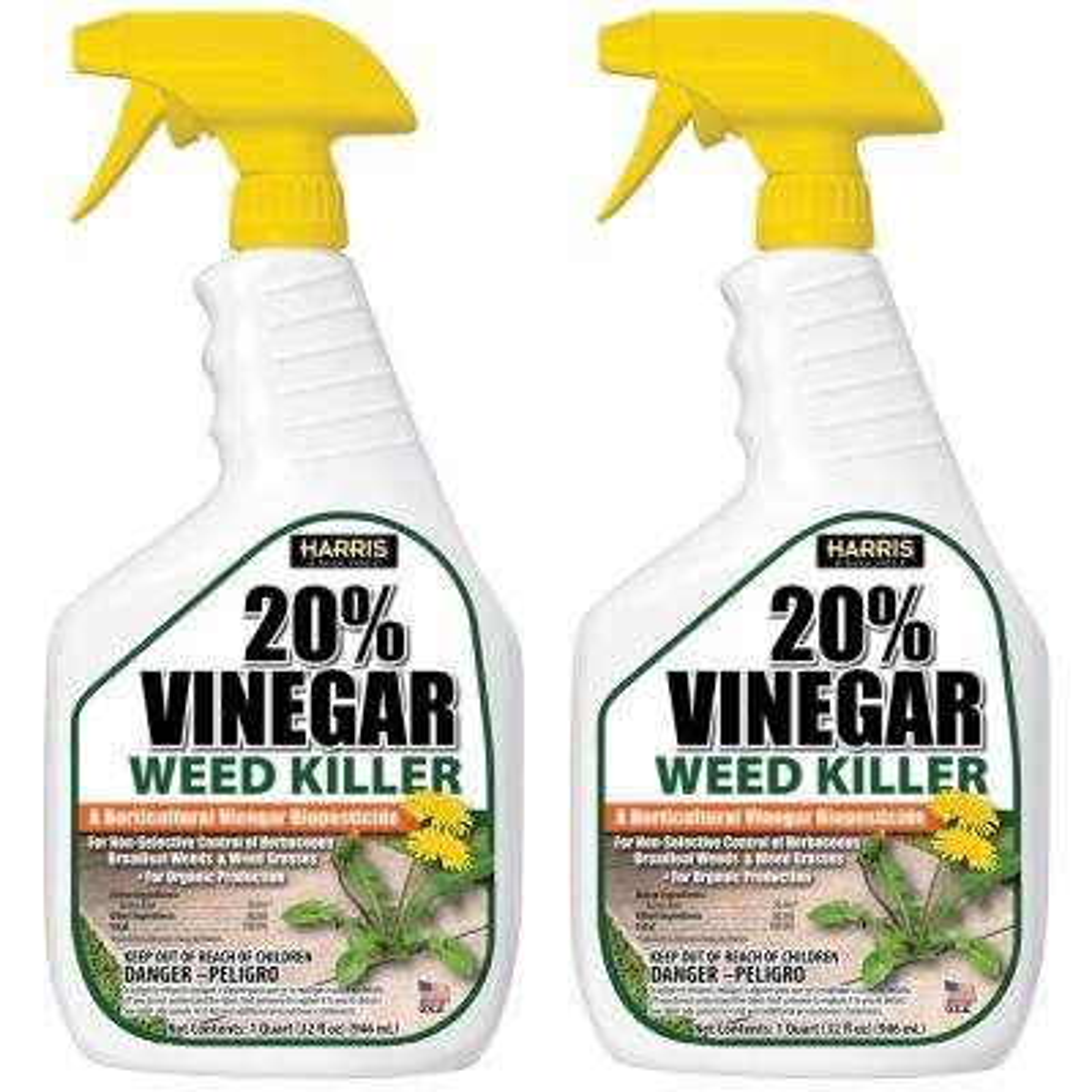 32 oz. 20% Vinegar Weed Killer (2-Pack)