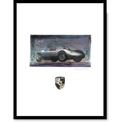 "24 in. x 18 in. ""Porsche"" by Fairchild Paris Car Series Wall Art"