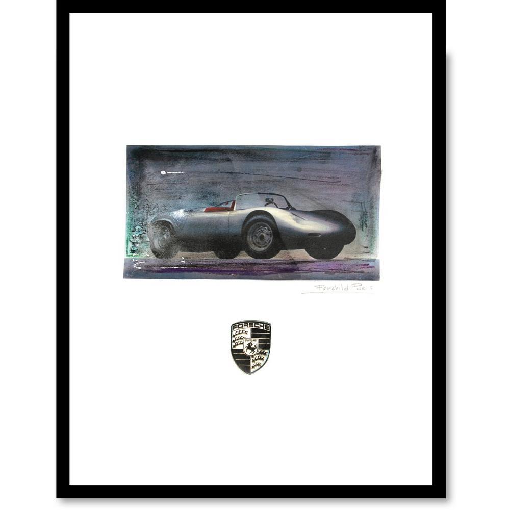 """24 in. x 18 in. """"Porsche"""" by Fairchild Paris Car Series Wall Art"""
