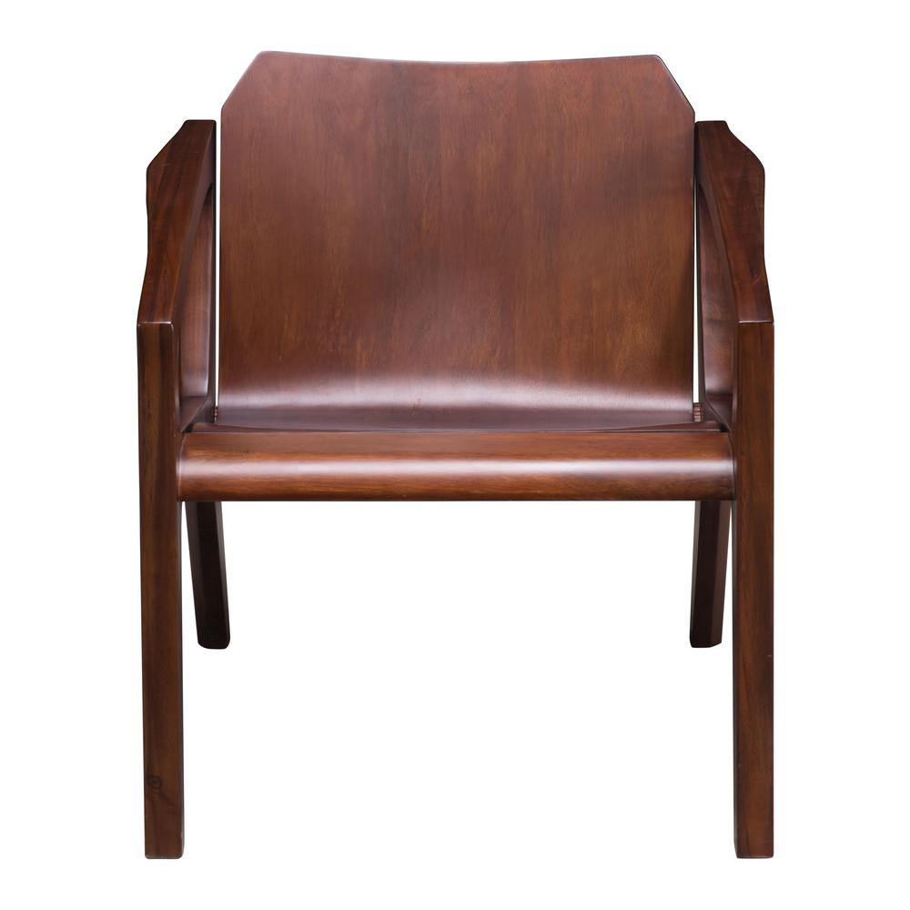 ZUO Perth Chestnut Occasional Chair  sc 1 st  The Home Depot & ZUO Perth Chestnut Occasional Chair-100784 - The Home Depot