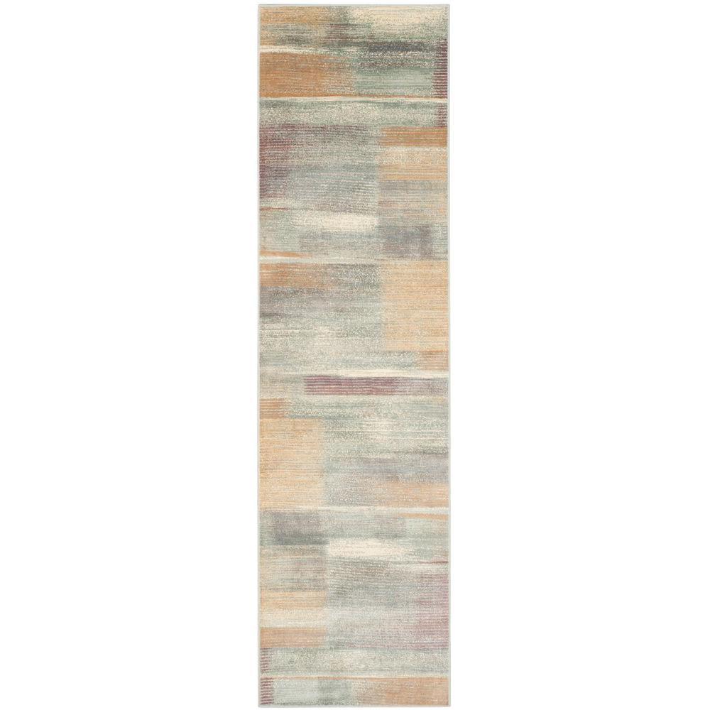 Safavieh Vintage Light Blue 2 ft. x 8 ft. Runner Rug