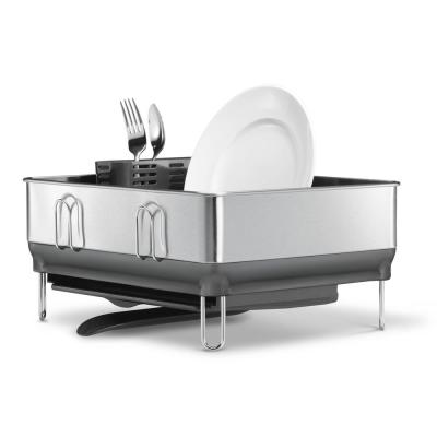 Compact Steel Frame Stainless Steel Dish Rack