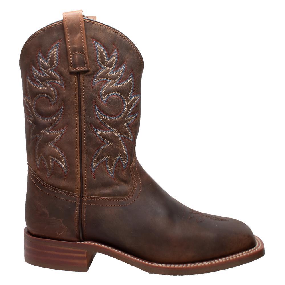 Square Toe Cowboy Boots-9828-W130