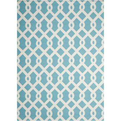 Ellis Poolside 8 ft. x 11 ft. Indoor/Outdoor Area Rug