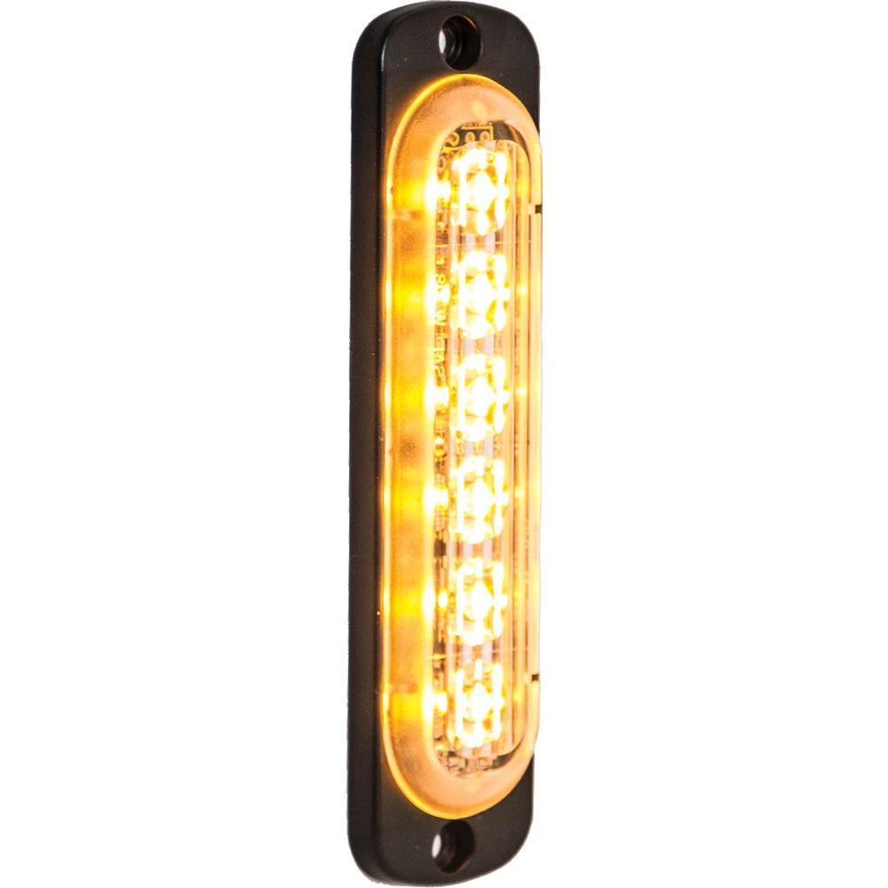 LED Amber Vertical Strobe Light