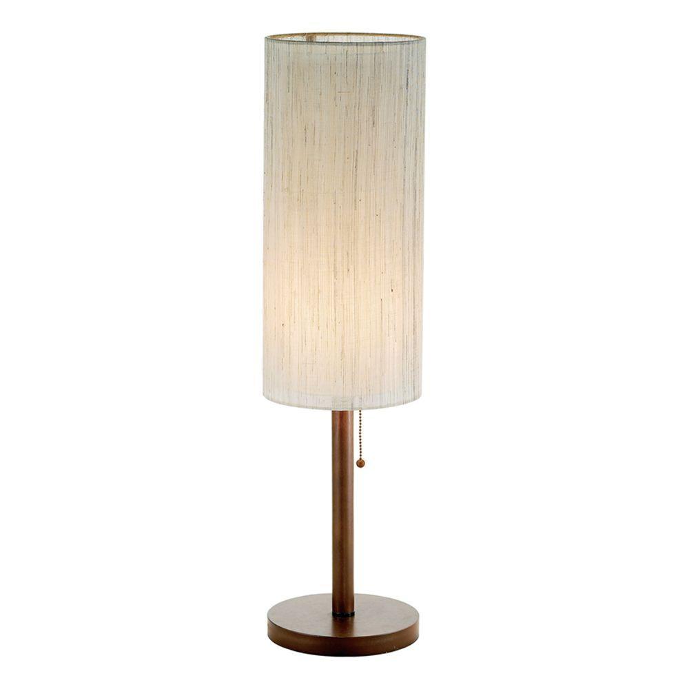 Hamptons 31 In Walnut Table Lamp