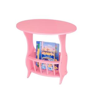Pink Magazine End Table