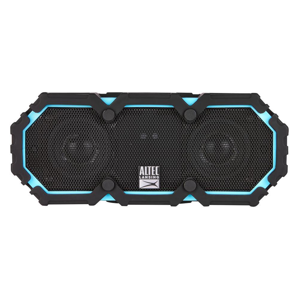 Altec Lansing LifeJacket Bluetooth Speaker, Aqua Blue